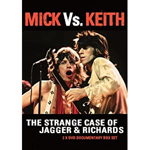 Mick Vs. Keith: Strange Case of Jagger & Richards [DVD] [Import]