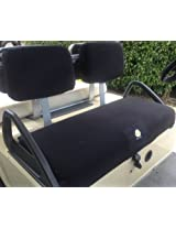 Cart Logic CL 12158 CC-DS Cozi Cover Golf Cart Seat Cover Set, Black