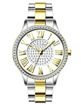 Giordano Analog White Dial Women's Watch - A2031-55