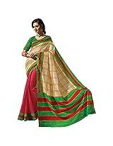 Ashika Printed Bollywood Designer Raw Silk Saree ,Sari (2419)