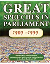 Great Speeches in Parliament, 1989-99: 10 Years of MPTV