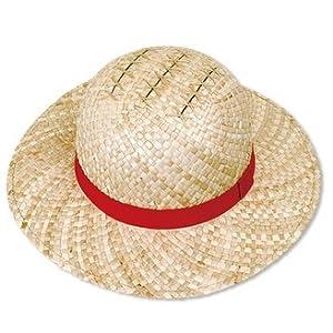 ONE PIECE ルフィの麦わら帽子 バギーがつけた傷付き