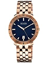 Bulova Accutron II Analog Blue Dial Men's Watch - 97B130