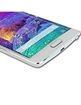 Snoogg NOTE 4 EDGE High screen protector film High Definition (HD) Ultra Clear (invisible) - Lifetime Replacement Warranty + Cleaning Cloth