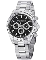 Stuhrling Original Octane Analog Black Dial Men's Watch - 564.02