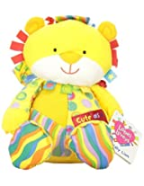 Kids Preferred Label Loveys Plush Toy, Cute As A Button Lion By Kids Preferred