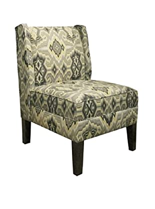 Skyline Wingback Chair, Pebble