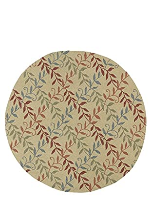 Kaleen Home & Porch Indoor/Outdoor Rug, Butterscotch, 5' 9