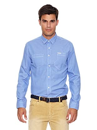 Pepe Jeans London Camisa Squadrons (Azul)