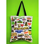 Big White Bangalore Tote Bag | Color Multicolour