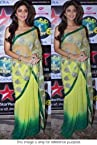 Bollywood Replica Shilpa Shetty Net Saree In Light Green Colour 245