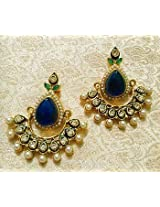 Earrings - Designer Bollywood Jhumka Jewellery Earrings For Navratri,Diwali,Wedding-LFER014