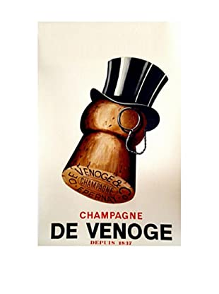 Champagne Cork Giclée Canvas Print