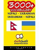 3000+ Nepali - Ukrainian Ukrainian - Nepali Vocabulary