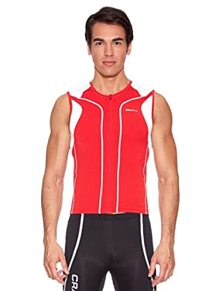 Craft Maillot Performance Tri (Rojo)