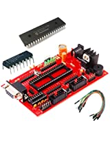 PIC Project Board With PIC16F877A IC RS232 Serial Port Power Supply 5v,12v,GND