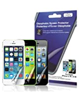 Green Onions Supply Crystal Oleophobic Screen Protector for Apple iPhone 5/5C/5S (2-pack)