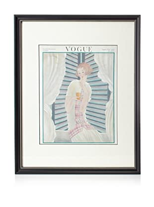 Original Vogue Cover from 1922 by Georges Lepape