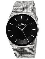 Skagen Analog Black Dial Men's Watch - SKW6019I