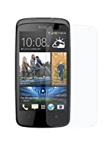 Snoogg HTC DESIRE D 500 High screen protector film High Definition (HD) Ultra Clear (invisible) - Lifetime Replacement Warranty + Cleaning Cloth