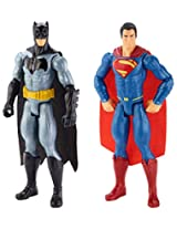 Lego Batman and Superman Figure, Multi Color