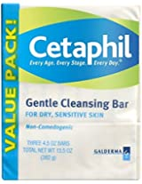 Cetaphil Hypoallergenic Gentle Cleansing Bar - 4.5 - Ounce Pack Of 3