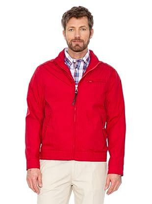Cortefiel Baumwoll Jacke (Rot)