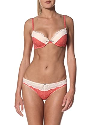 Blush Women's Girlie Show Thong (Red Pout)