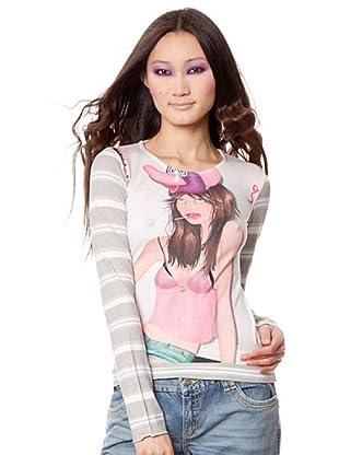 Custo Camiseta Edión (Multicolor)