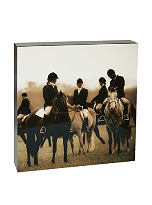 Art Block Fox Hunt - Fine Art Photography On Lacquered Wood Blocks