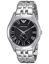 Emporio Armani Analog Black Dial Men's Watch - AR1706