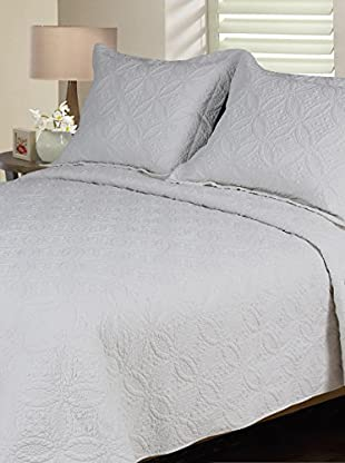 Mélange Home Eileen West Wedding Ring Quilt Set
