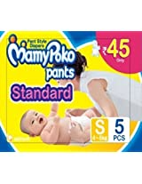 Mamy Poko Pant Standard Style Small Size Diapers (5 Count)
