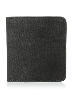 Bosca Men's Field 5-Pocket Wallet, Gray/Dark Brown