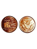 1 1 Ounce Vietnam Veterans Tribute Copper Round Collection No Grade