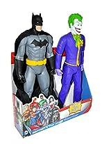 DC Universe 20-inch Batman and Joker Action Figure, Multi Color