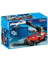 Playmobil Cargo Transporter with Container, Multi Color
