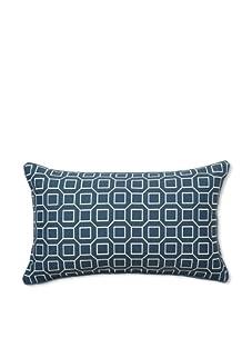 Jiti Hexagon Pillow (Slate Blue)