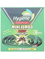 Hygiene 8 Hrs Deep Reach mini Jumbo Green Mosquito Coil (Pack of 10)