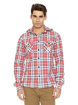 Franklin & Marshall Camisa Highlands Cuadros (Rojo / Blanco)