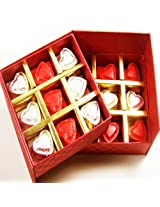 Valentine Gifts- Sugarfree Double Decker Heart Chocolate Box