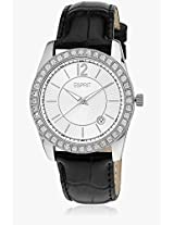 Double Icon ES106142002-N Black/White Analog Watch Esprit