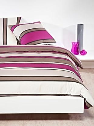 Mistral Home Bettwäsche-Set Alhambra in 3 Größen (grau/violett)