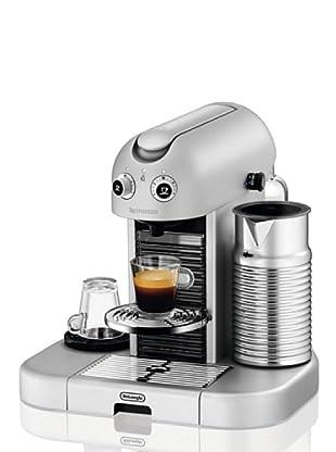 Delonghi Maquina De Café Nespresso Gran Maestria Silver EN470SAE - Cafetera monodosis (2300 W, 1.4 litros, 19 bares)