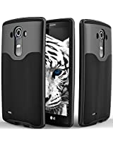 LG G4 case Caseology [Wavelength Series] [Black / Black] Textured Pattern Grip Cover [Shock Proof] LG G4 case
