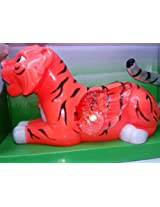 Tiger Wing Tail Swing Lights Music Sound Toy