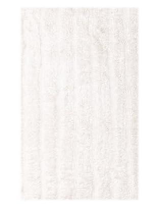 Famous International Cotton-Blend Bath Mat (White)