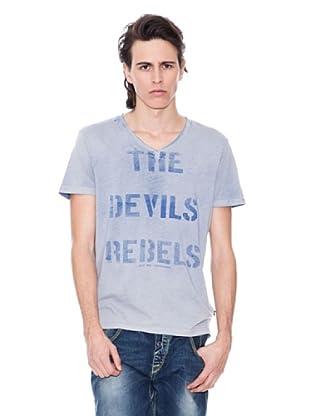 Gio Goi Camiseta Thrasher (Azul)