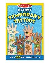 Blue: My First Temporary Tattoos - 100+ Kid-Friendly Tattoos