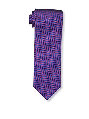 Missoni Men's Zig Zag Tie, Blue/Red